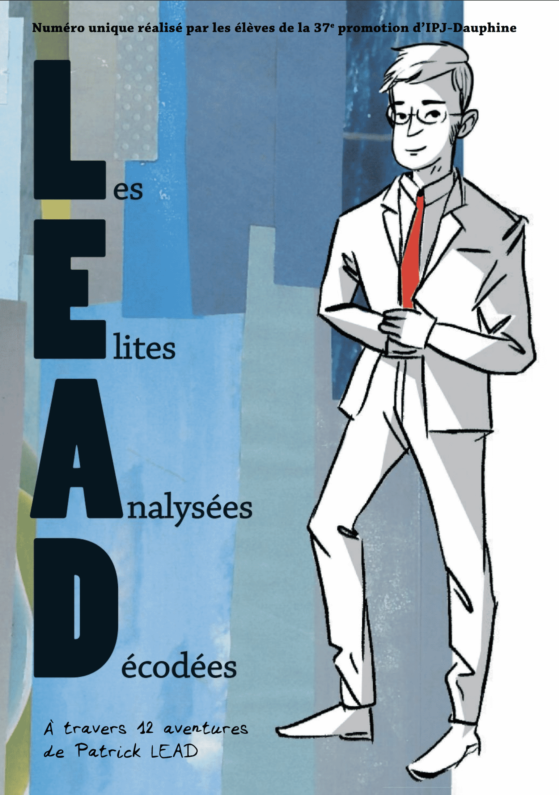 Couverture magazine LEAD